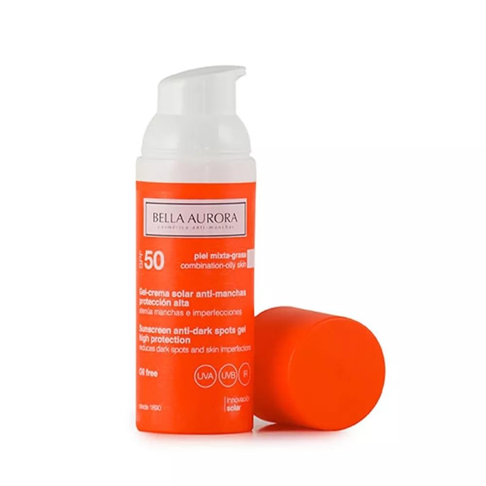 Crema Protección Solar Facial Bella Aurora SPF +50