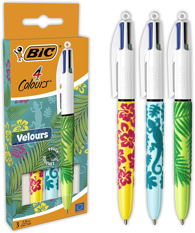 BIC 4 Colores Velours