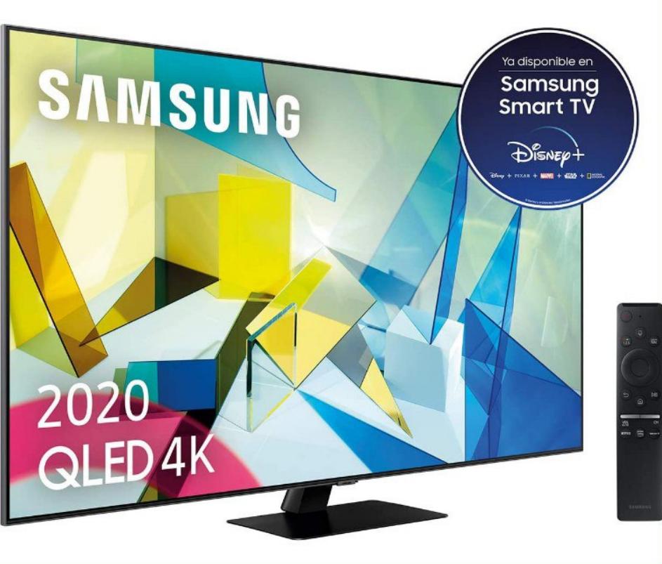 "Samsung QLED 55"" 55Q80T 4K 2020"
