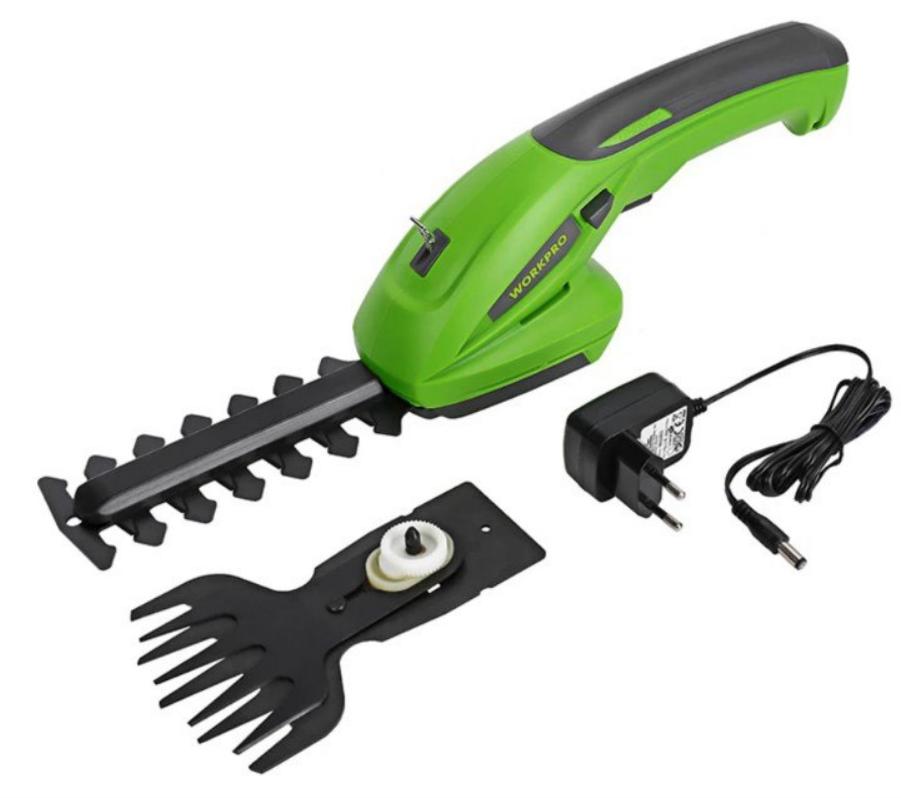 WORKPRO Recortador eléctrico para jardín
