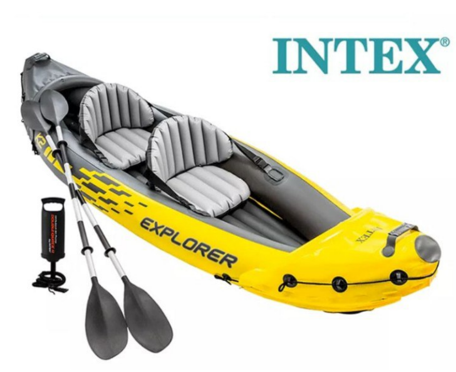 Kayak hinchable Intex explorer