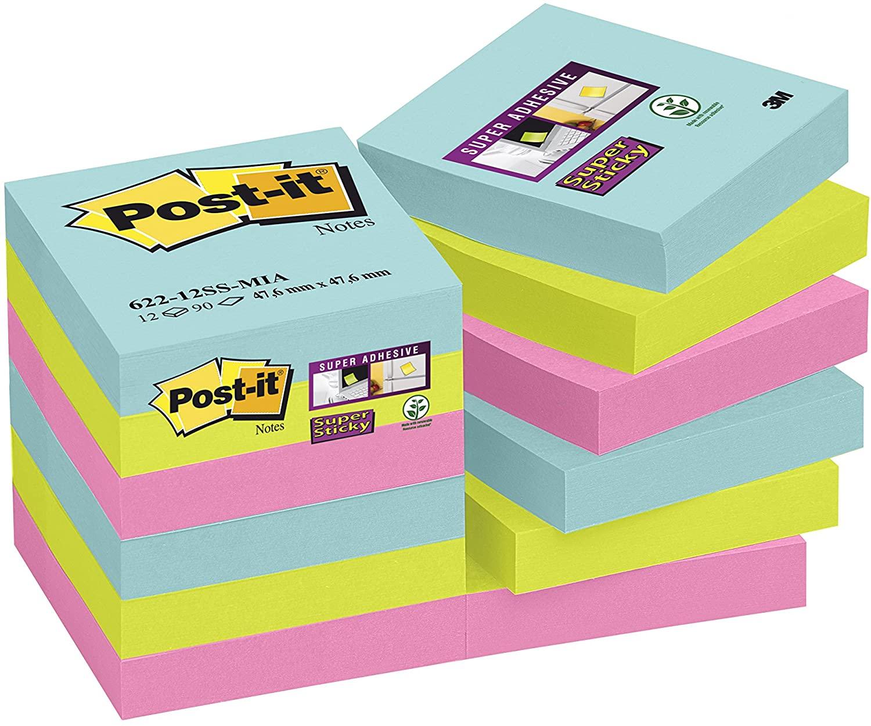 Post-it Super Sticky Notas adhesivas