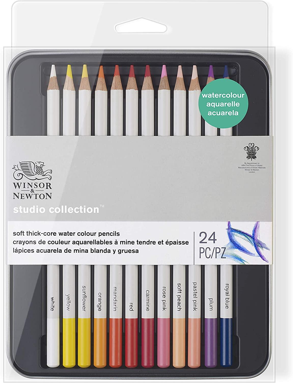 24 lápices multicolor Winsor & Newton