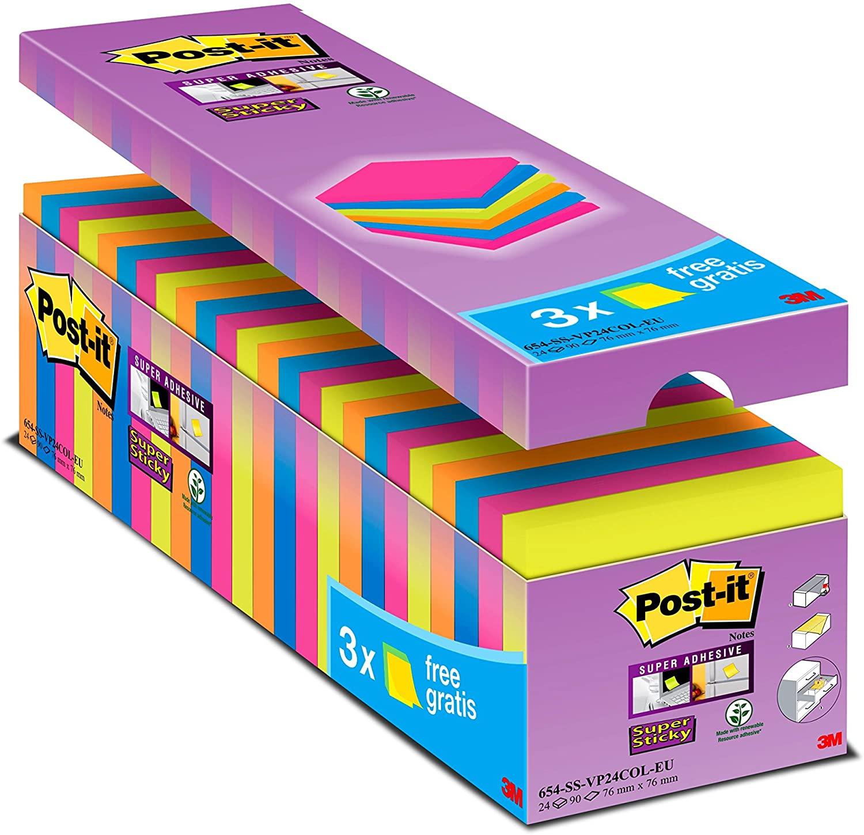 Pack de más de 2000 notas adhesivas Post-it