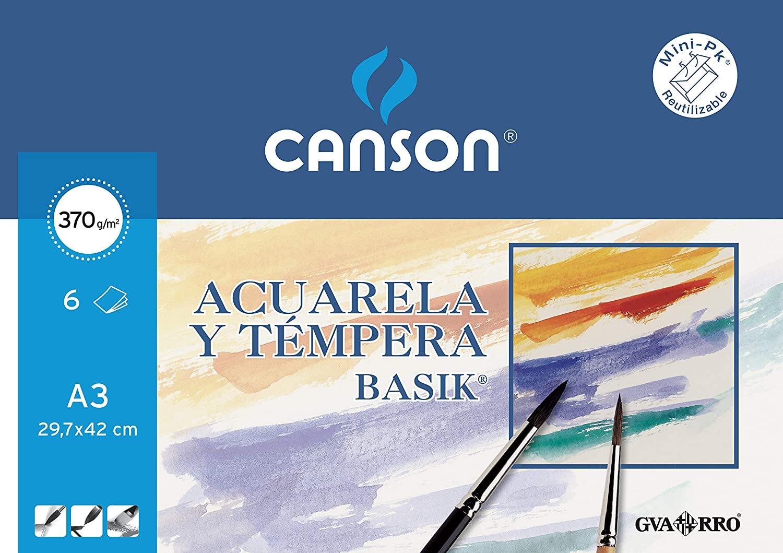 Papel Acuarela Basik