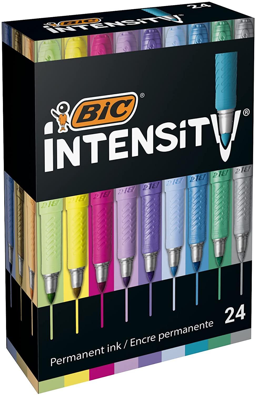 Rotuladores Permanentes BIC Intensity