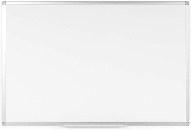 Pizarra blanca magnética 120 x 90 cm
