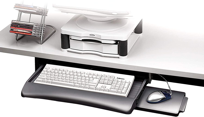 Bandeja para teclado ajustable