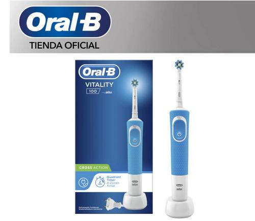 Cepillo de dientes eléctrico Oral B Vitality 100 CrossAction