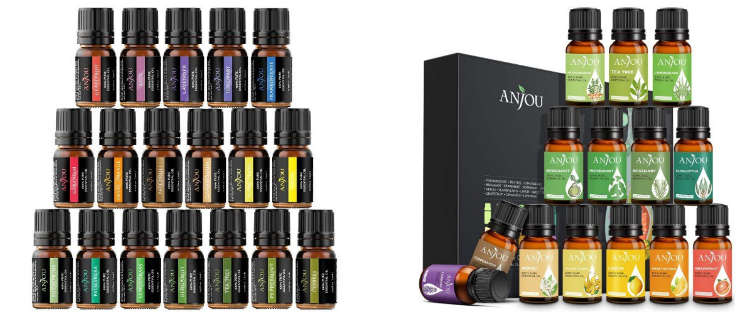 Pack 18 aceites esenciales 5ml 100% natural