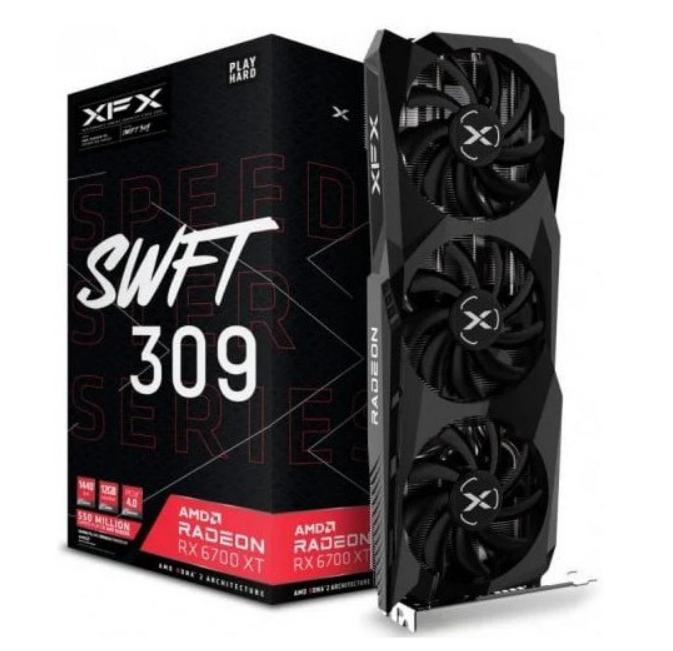 Gráfica XFX AMD RX 6700XT