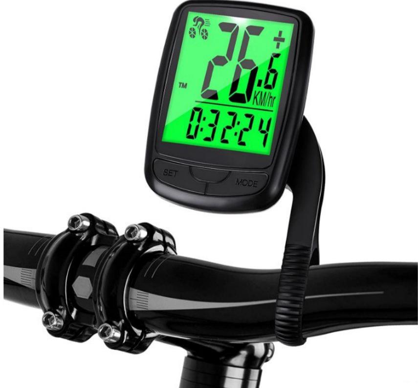 Cuentakilómetros inalámbrico para bicicleta