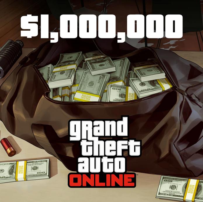 1 000 000 GTA$ para GTA Online con  PS Plus
