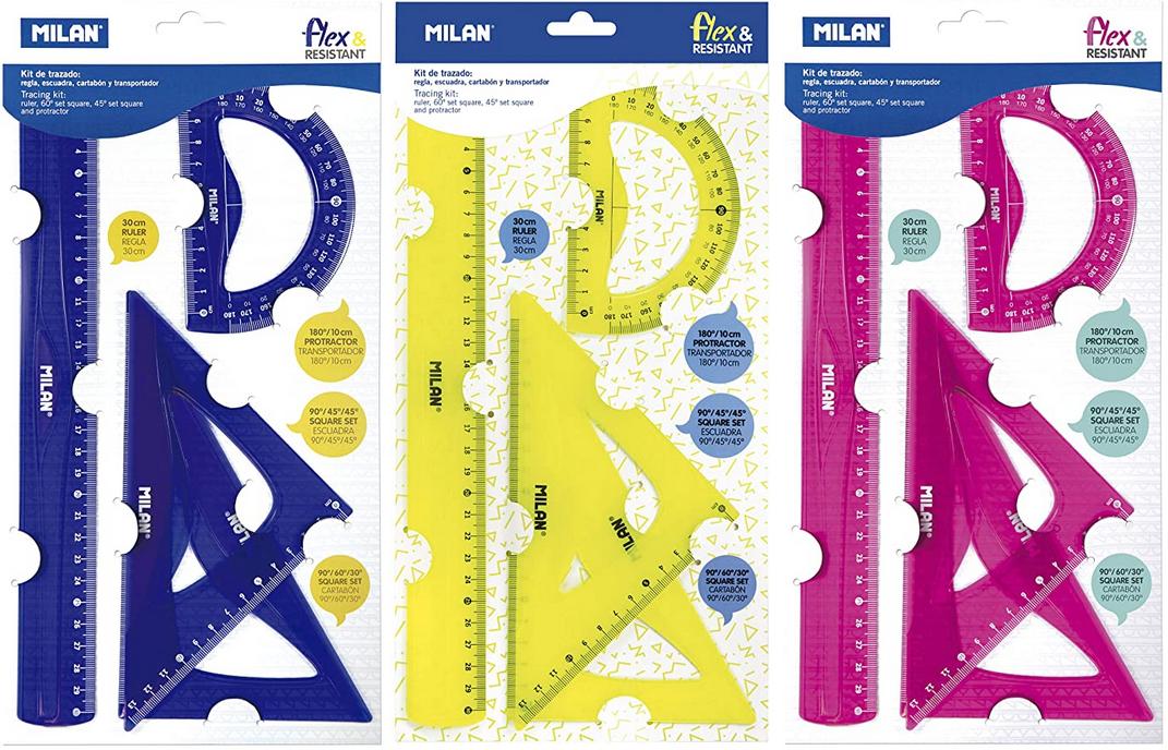 [Miniprecio] Kit de reglas de medición Milan