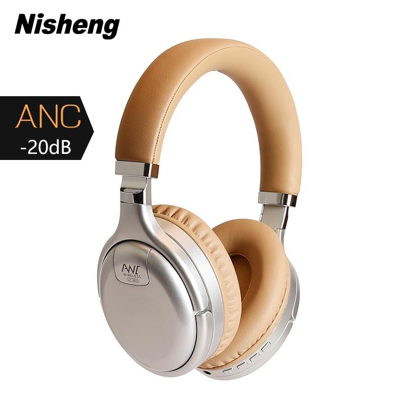 Auriculares inalámbricos Nisheng con ANC