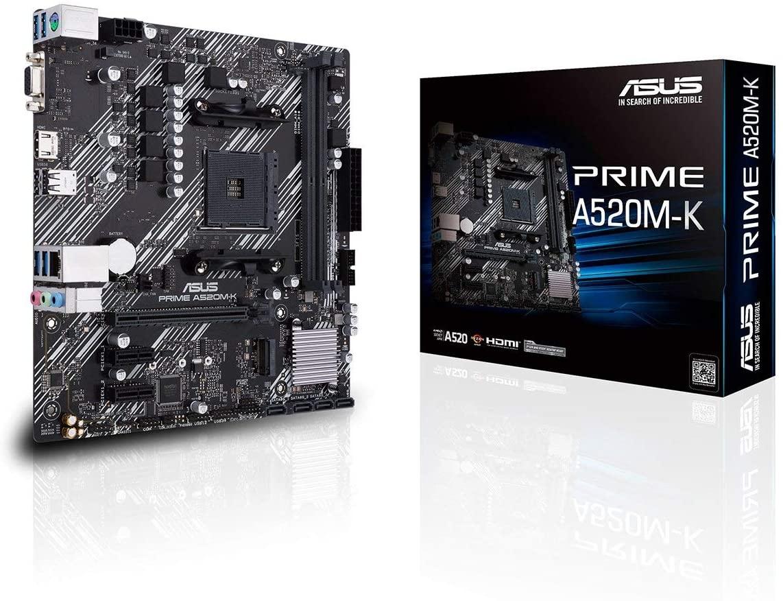 Placa Base ASUS Prime A520M-K