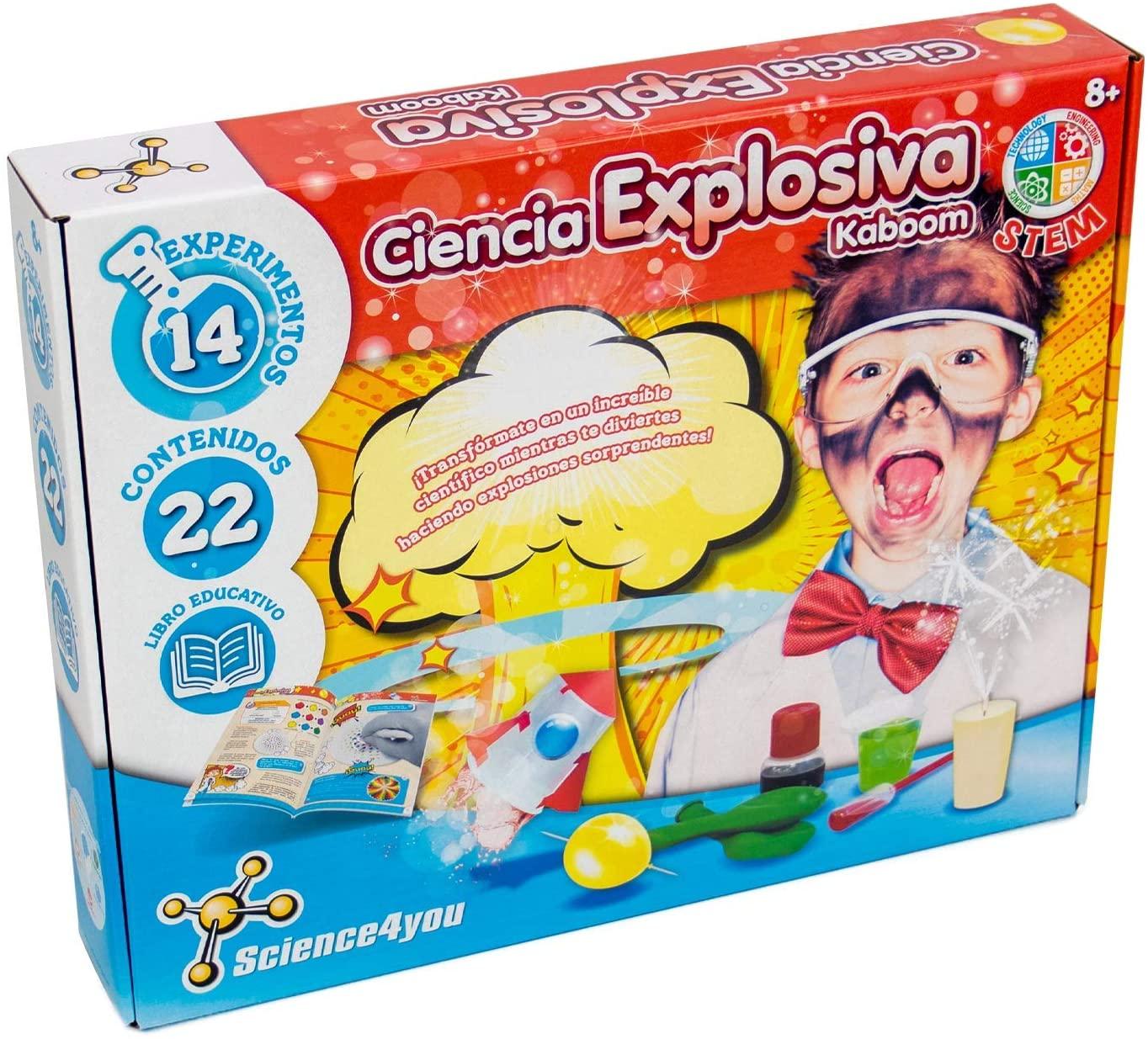 Ciencia Explosiva Kaboom para Niños Science4you