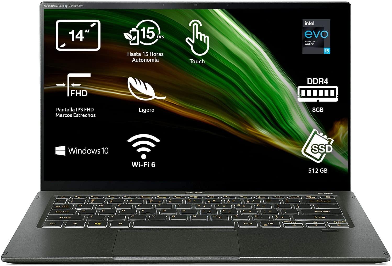 """Ordenador Portátil Acer Swift 5 NU-SF514-55T-5001 14"""""""