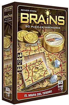 Brains mapa del tesoro 50 juegos de ingenio