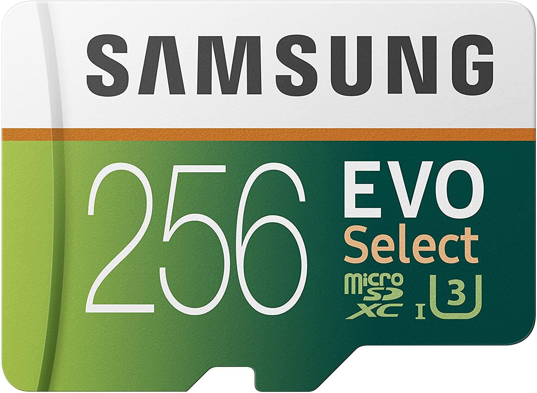 Samsung MicroSD EVO Select 256GB