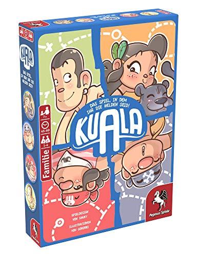 Pegasus Spiele 36020G – Kuala (Juego de Aventura de cómic de cómic)