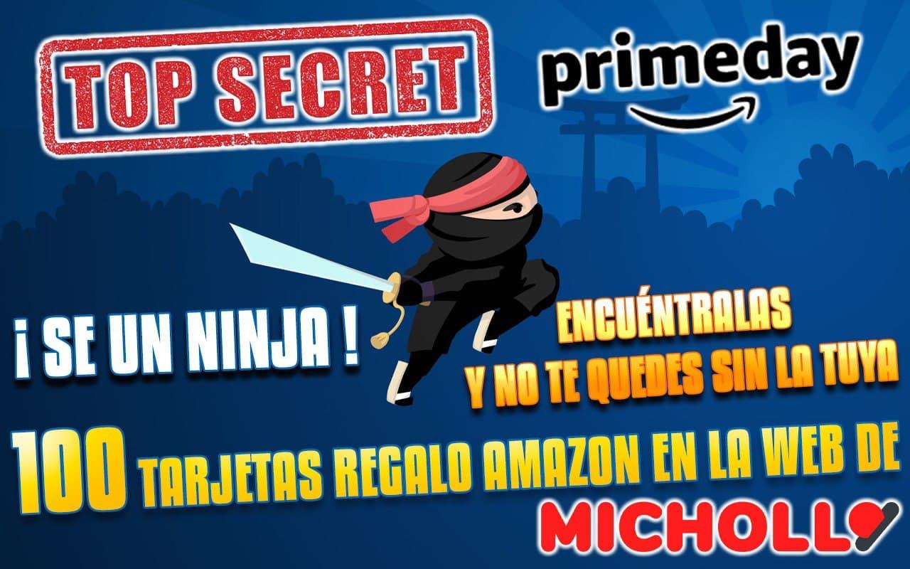 Escondite Prime! Cheques regalo Amazon en la web