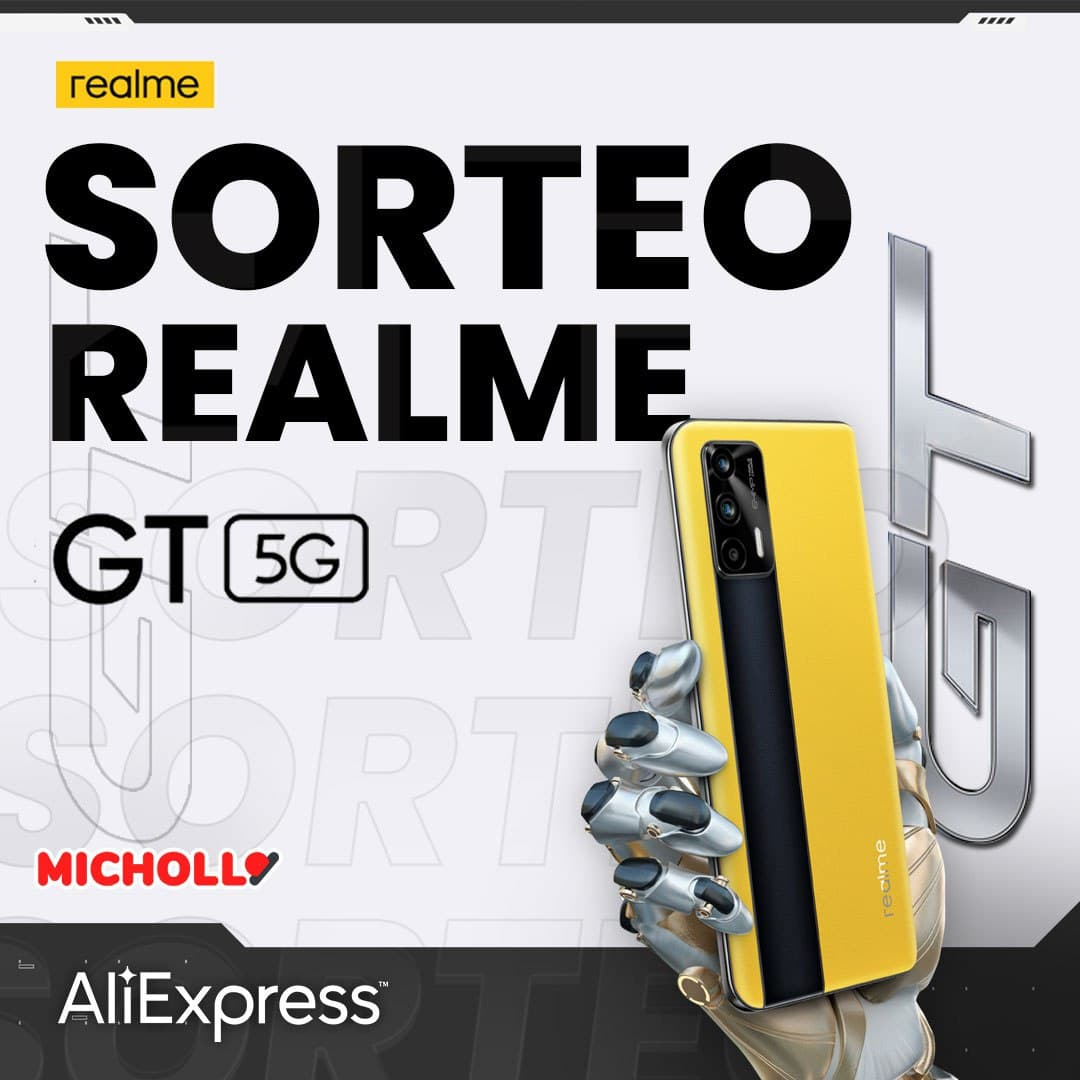 Sorteo Realme GT 5G