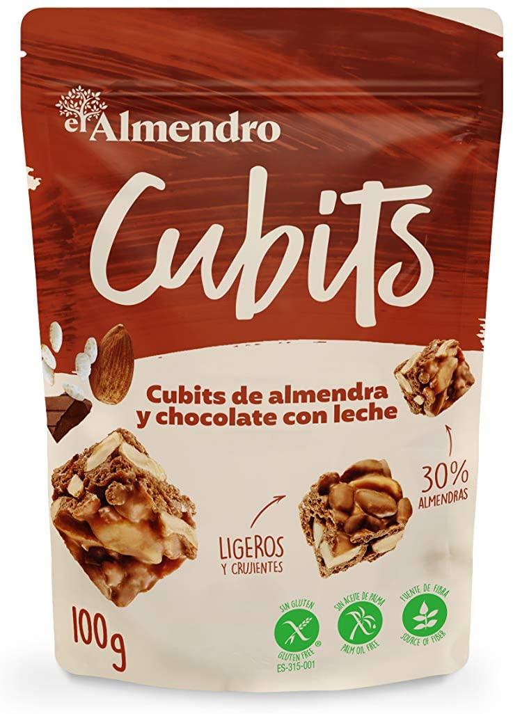El Almendro - Cubits de Almendra y Chocolate con Leche 100g