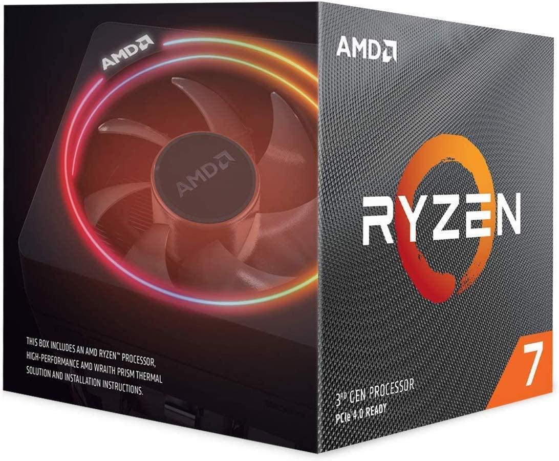 AMD Ryzen 7 3700X + Wraith Prism