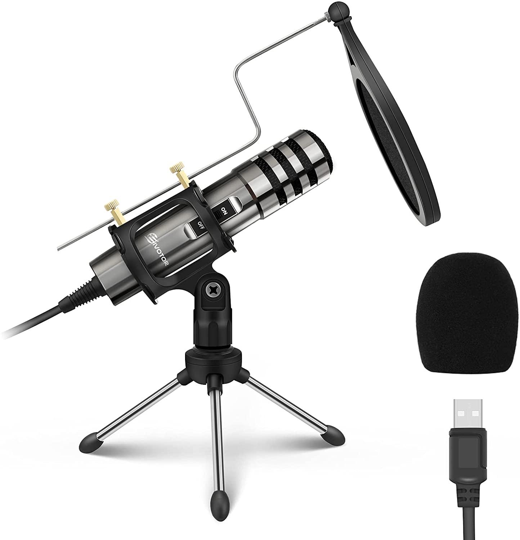 Micrófono USB de estudio