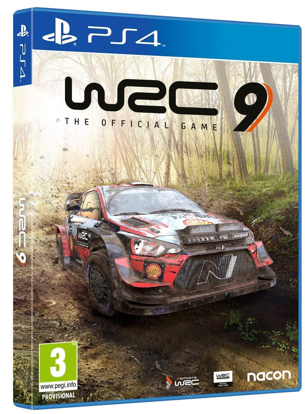 WRC 9 para PS4