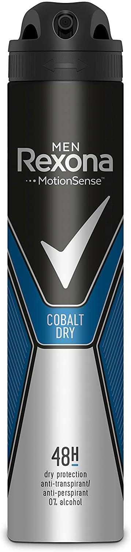 Desodorante antitranspirante Rexona Cobalt Dry 200ml