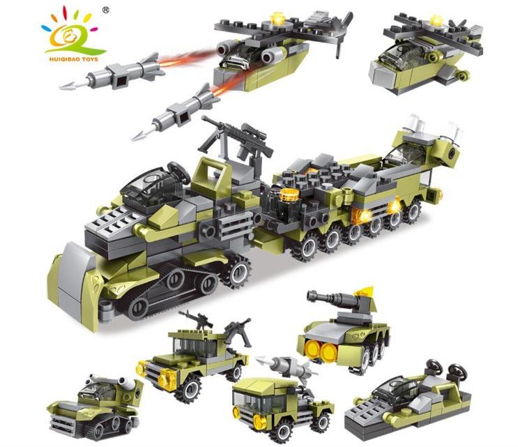 Juguetes de construcción militares