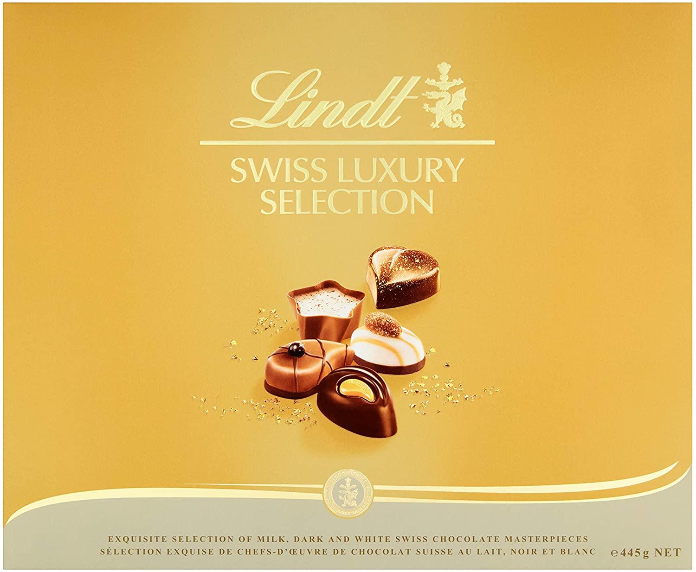 Bombones Lindt Swiss Luxury Selection 445gr