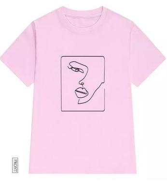 Camiseta de algodón para mujer (Tallas XXS a XXXL)