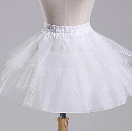 Falda ballet con volantes