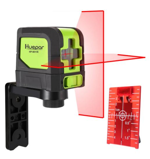 Laser autonivelante de 2 líneas