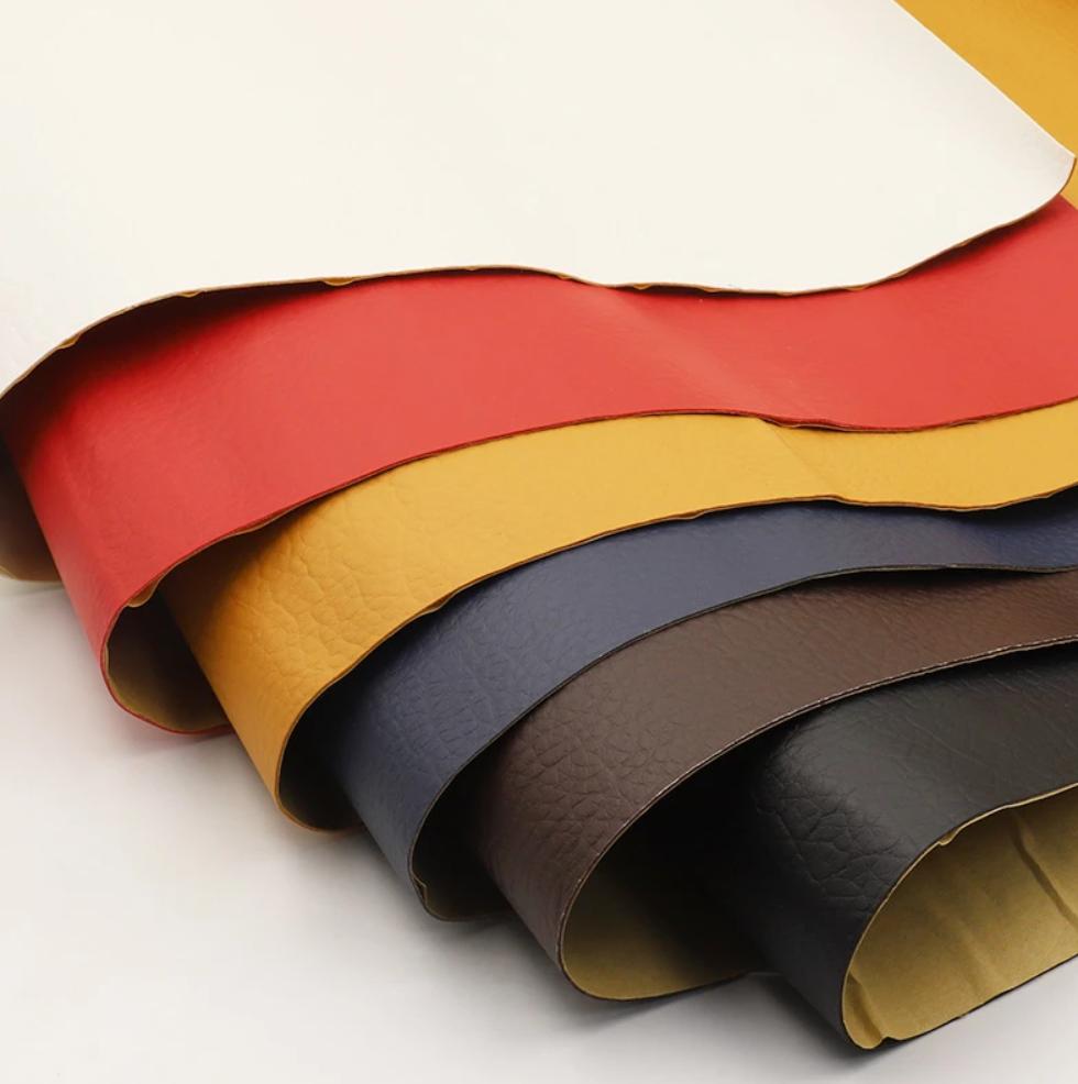 Láminas de cuero sintético