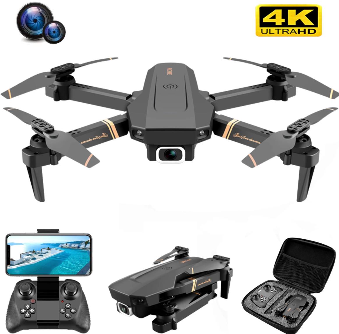 Dron V4 Rc 4k HD