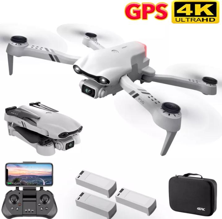 Drone con cámara 4k y GPS