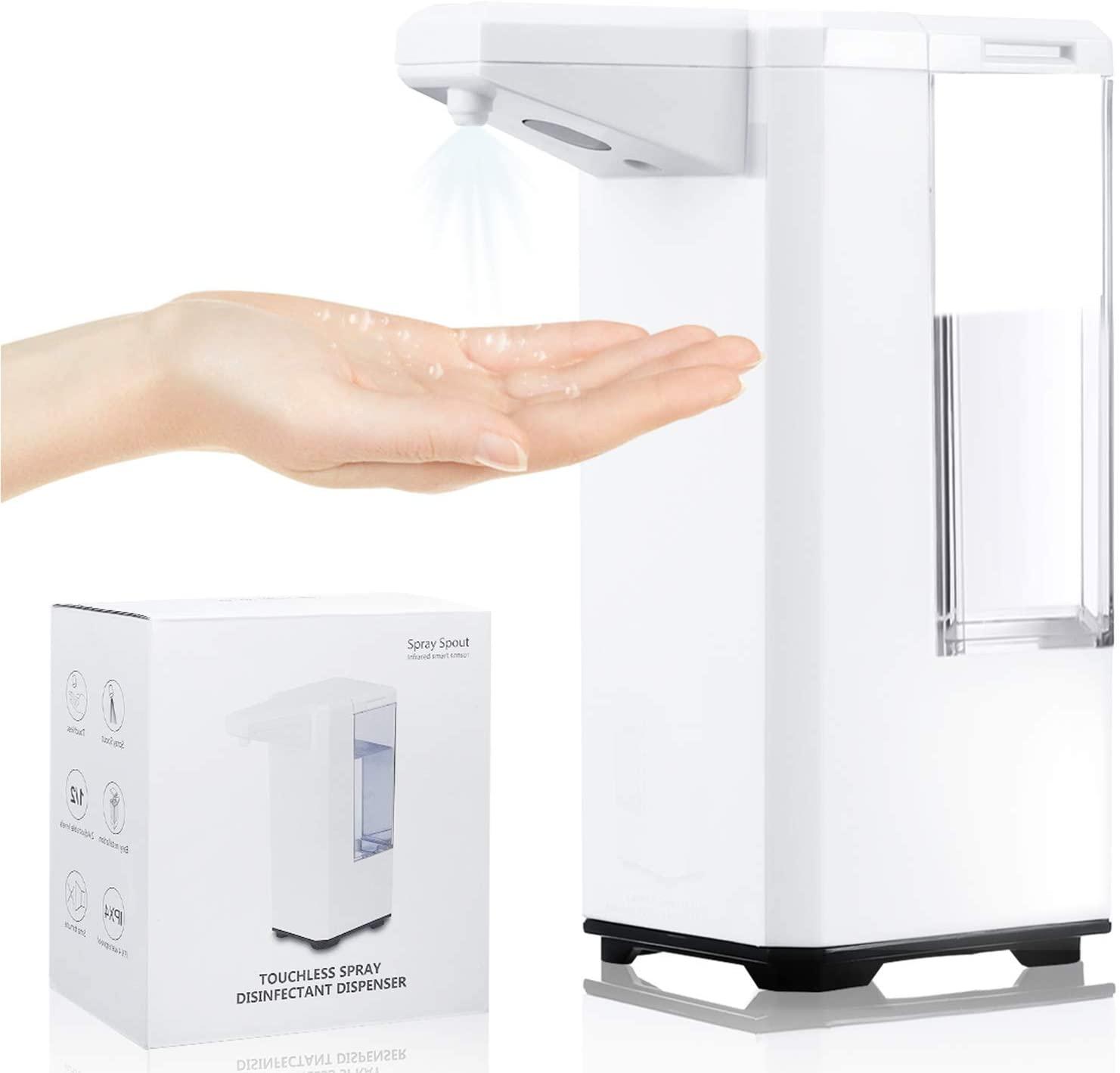 Dispensador automático de jabón 500ml