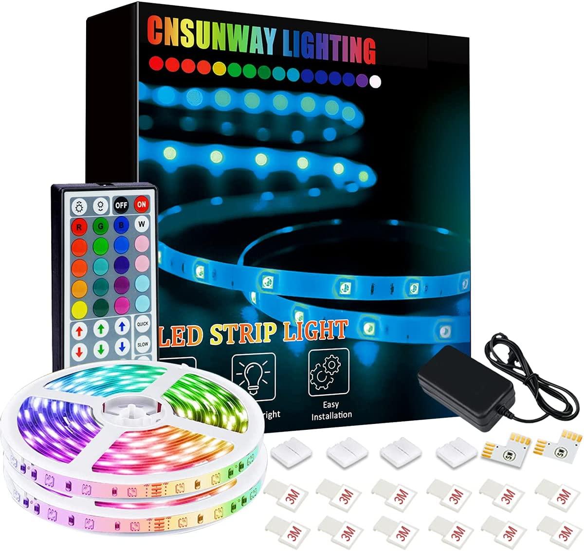 Tiras LED 12M  300 LEDS RGB