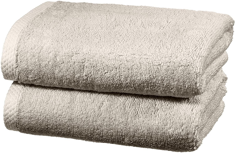 Juego de 2 toallas de mano de secado rápido Amazon Basics