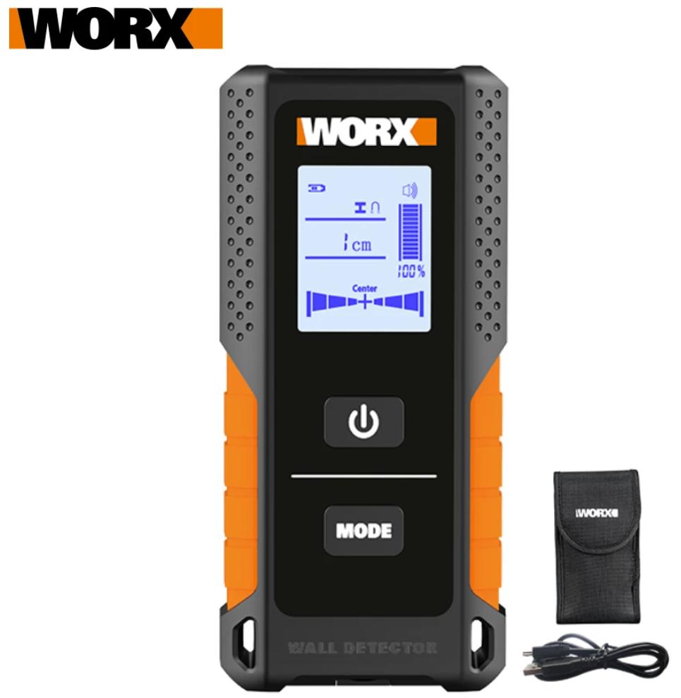 Worx detector de metal, madera y cables para paredes