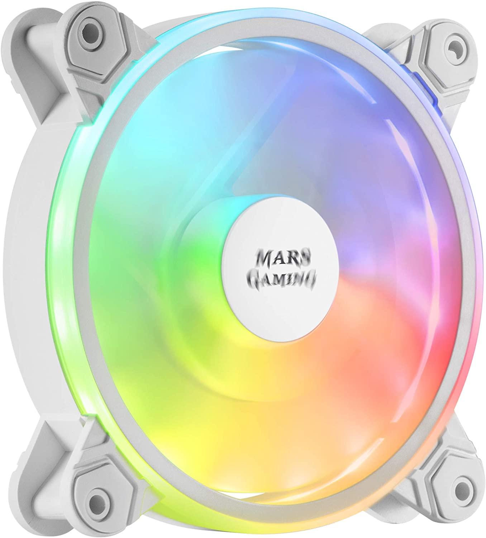 MARS GAMING MFXW Ventilador PC 120mm