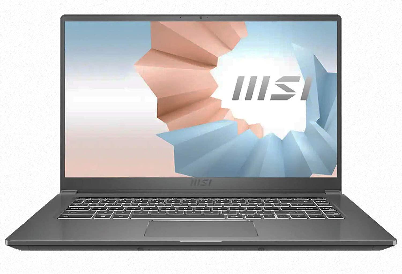 MSI MODERN 15 i5 8+512gb