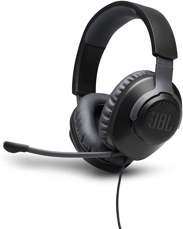 Auriculares JBL Quantum 100 con sonido QuantumSOUND