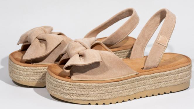 Sandalias con plataforma para mujer