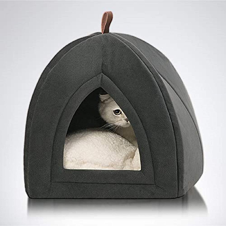 Cama triangular para mascotas