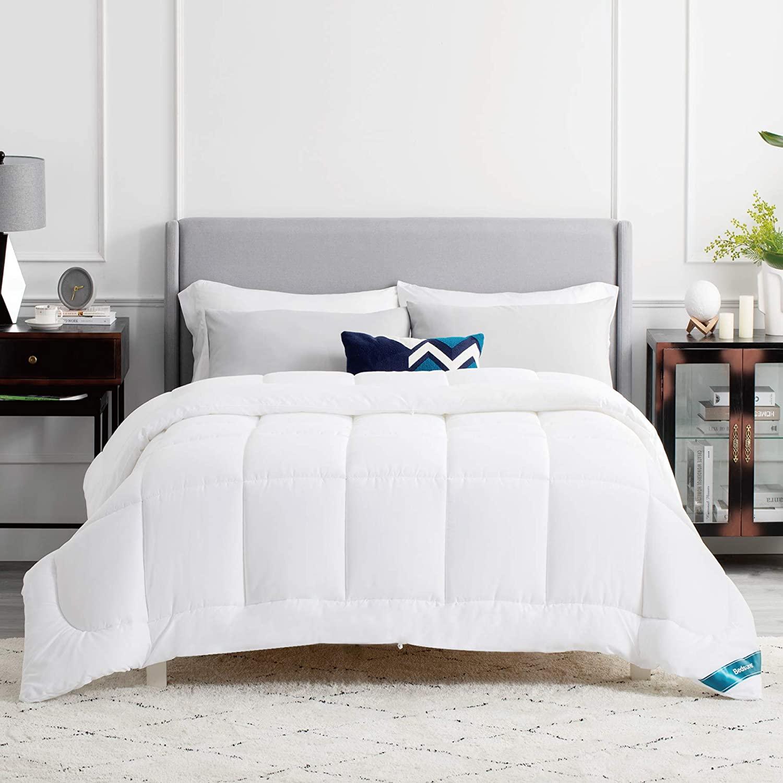 Edredón relleno nórdico para cama de 80